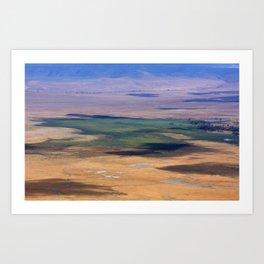 Ngorongoro Crater Tanzania Art Print