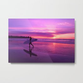 Surfing is for life Metal Print