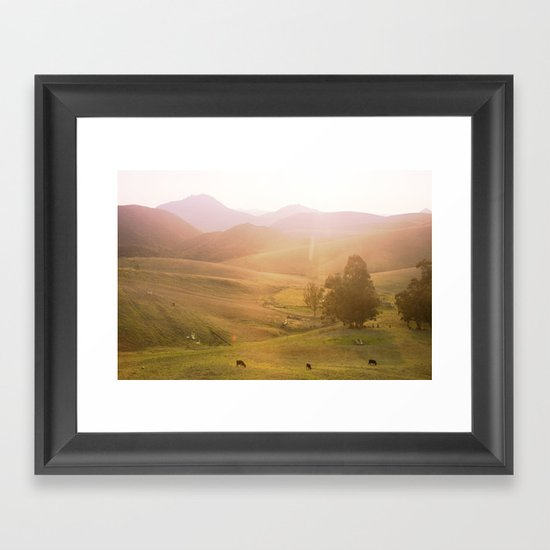 Coast 2 Framed Art Print