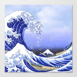Surf's Up! The Great Wave Canvas Print