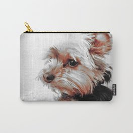 Bad day, eh?!! | Dog | Yorkie | Nadia Bonello Carry-All Pouch