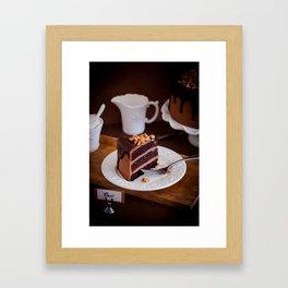 Baci Cake Framed Art Print