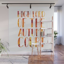 High Lord of the Autumn Court Wall Mural
