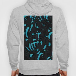 3D Abstract Ornamental Background Hoody