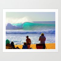 Pipeline in real color Art Print