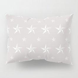 Stella Polaris Light Grey Design Pillow Sham