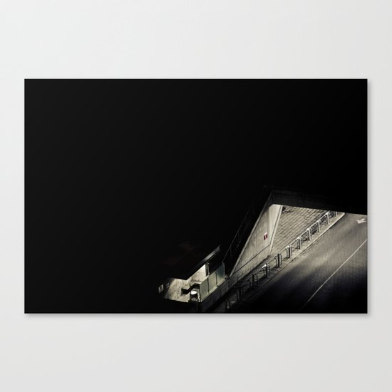 Navigated Light Canvas Print
