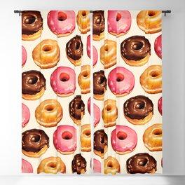 Donut Pattern Blackout Curtain