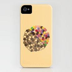 Parallel Pigmentation iPhone (4, 4s) Slim Case