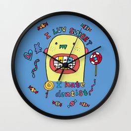 I hate dentist Wall Clock