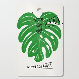 Monstera Cutting Board
