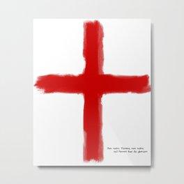 The Crusades - Temple Knights Metal Print