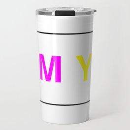 CMYK Travel Mug