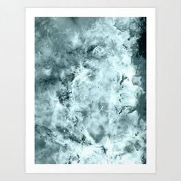 Sea WateR Nebula Art Print