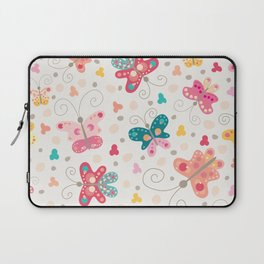 Spring butterflies Laptop Sleeve
