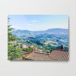 View of San Marino Metal Print
