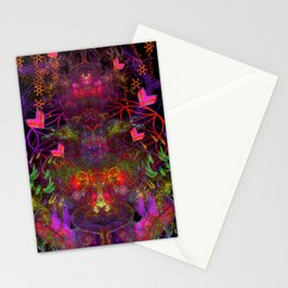 Love Exuded From The Crown Stationery Cards