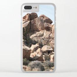 plateau. Clear iPhone Case