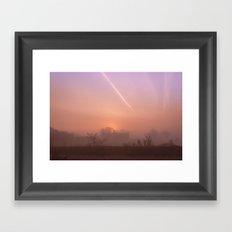 Moments of Sunrise Framed Art Print