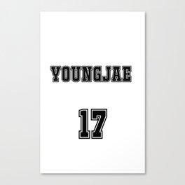 GOT7 YOUNGJAE 17 Canvas Print