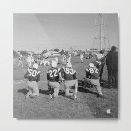 Old Lisle football stance Metal Print