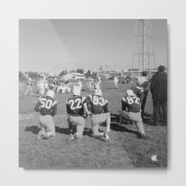 Old Lisle football stance Metal Print