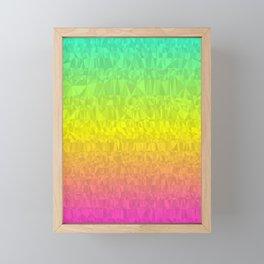 Summer - Flipped Framed Mini Art Print
