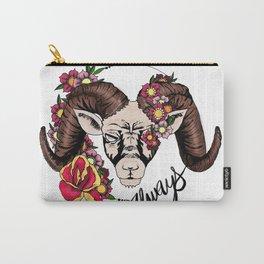Garden Ram Carry-All Pouch