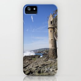 Pirate Tower Laguna Beach iPhone Case