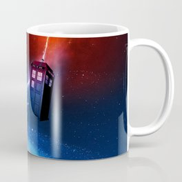 Tardis of Nebula Coffee Mug