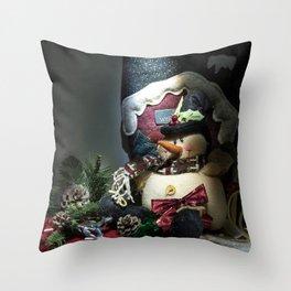 A Christmas Look Throw Pillow