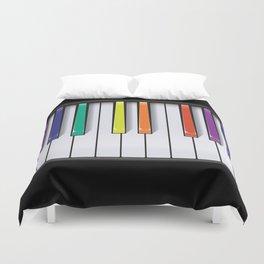Colour Your Music Duvet Cover
