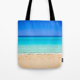 Beach on Crete Tote Bag
