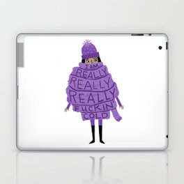 Really Really Really Fuckin Cold (Purple) Laptop & iPad Skin