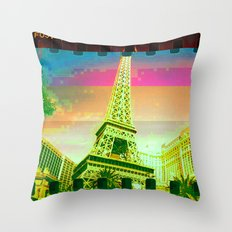 Las Vegas | Project L0̷SS   Throw Pillow
