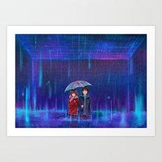 English Summer Rain Art Print