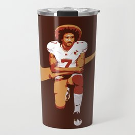 Colin Kaepernick - Kaep Doing It Travel Mug