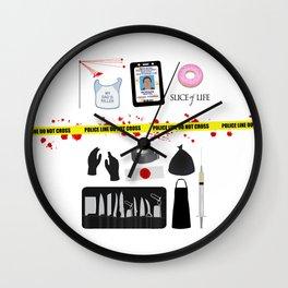 Dexter Morgan VS the Dark Passenger Wall Clock