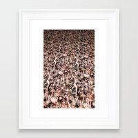 coachella Framed Art Prints featuring Coachella by Kyle Baker's QUALITY JOLLITY