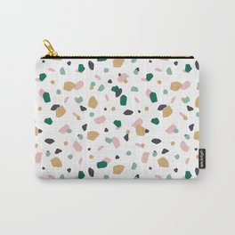 Tropical Terrazzo Carry-All Pouch