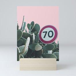 Cactus Route Mini Art Print