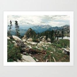 Utah Alpine Art Print