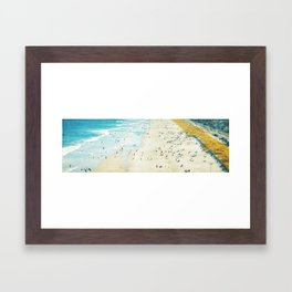 Jersey Shore Framed Art Print