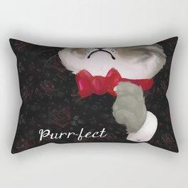 The Purr-fect Attire Rectangular Pillow