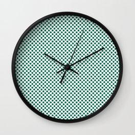 Lush Meadow Polka Dots Wall Clock