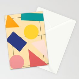 The streets Stationery Cards