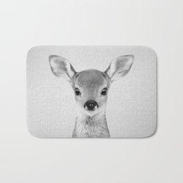 Baby Deer - Black & White Bath Mat