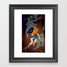 Fighters Framed Art Print