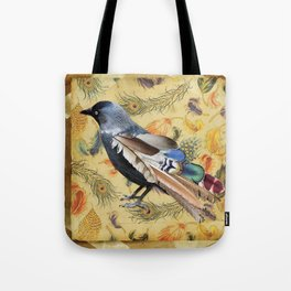THE VAIN JACKDAW Tote Bag