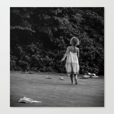 In Her Own Little World Canvas Print